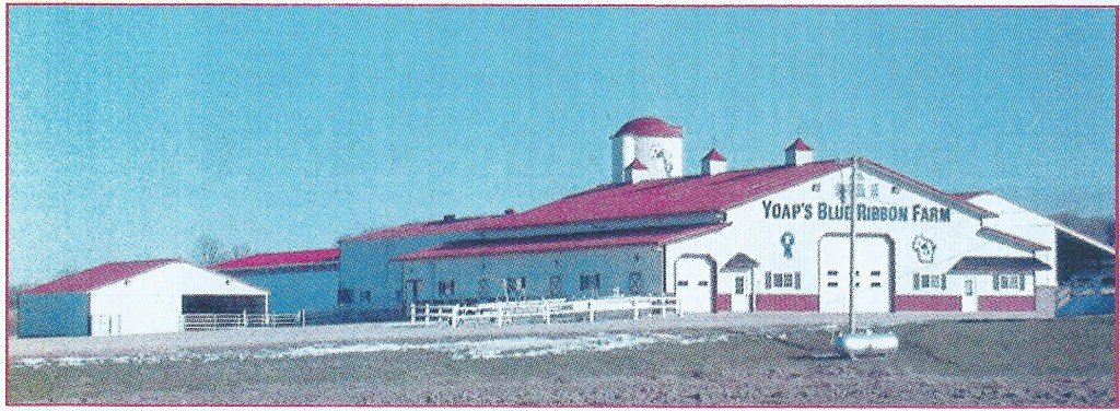 Auction Barn from the West