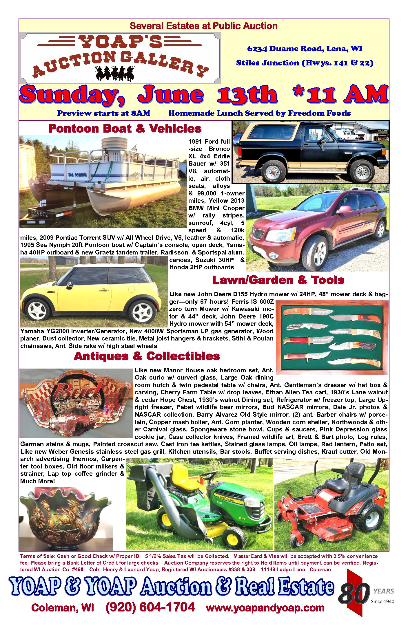 HUGE  Estate & Collector Auction!
